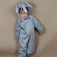 Childrens Day Boy Girl Cute Cartoon Animal Elephant Cosplay Costumes Jumpsuit  For Kids Children Animals Clothing