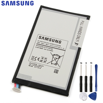 Original Replacement Samsung Battery For SAMSUNG Galaxy T331 Tab4 SM-T330 Genuine Tablet Battery EB-BT330FBE EB-BT330FBU 4450mAh original samsung replacement battery eb ba715aby for galaxy a71 sm a7160 genuine phone battery 4500mah