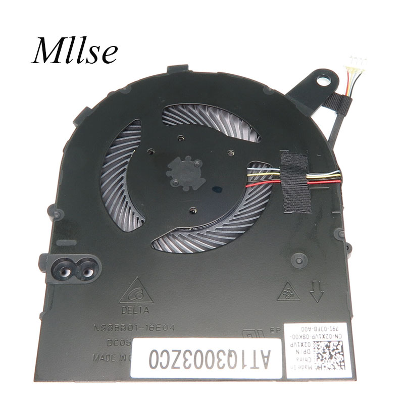 Laptop CPU cooling fan Cooler radiator for <font><b>DELL</b></font> inspiron 14 7460 Vostro 5468 5568 DP/N 02X1VP image