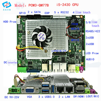Embedded Industrial Motherboards With Intel Core I5 2430M Dual Mpcie Single Board Computer