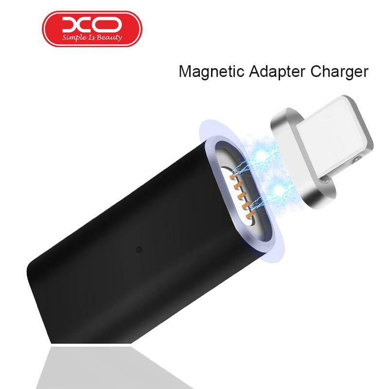 XO Micro USB Магнитный Conver к Тип-C/IOS/Android зарядный кабель Магнитный адаптер Galaxy s8plus данных кабель синхронизации для Xiaomi MI5 ...