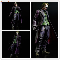Tobyfancy Batman Joker Action Figure Play Arts Kai 260MM Anime Model Toys Batman Playarts Joker Figure Toy