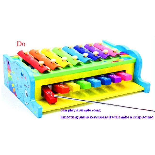 multifonctionnel combo xylophone en bois jouets instruments de musique pour enfants enfants t t. Black Bedroom Furniture Sets. Home Design Ideas