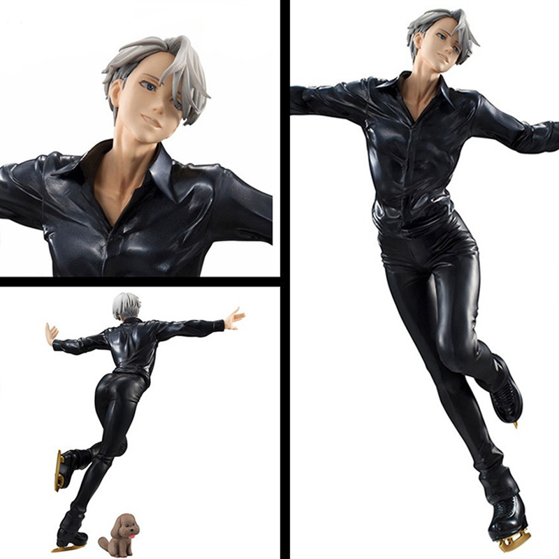 23CM PVC Yuri On Ice Anime Action Figures Victor Nikiforov Models Toys Collections Kids Gifts with Box удочка зимняя swd ice action 55 см