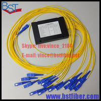 Włókna Optyczne FTTH instalacji 1x16 PLC Splitter jeden model 2.0mm-SC/UPC