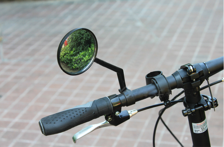 MTB Mountain Bike Convex Mirror Rear View Mirror Reflective Mirrors 360 Rotating Degree Cycling Handlebar Accessories
