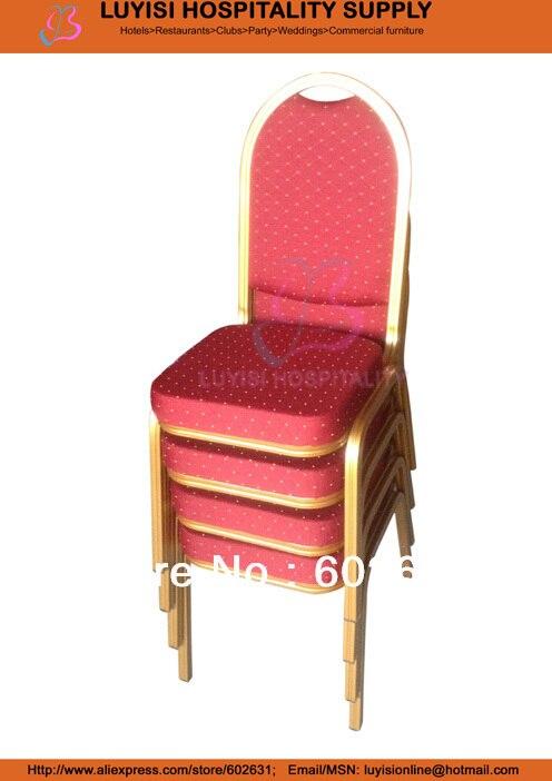 Штабелируемый алюминиевый стул для банкета