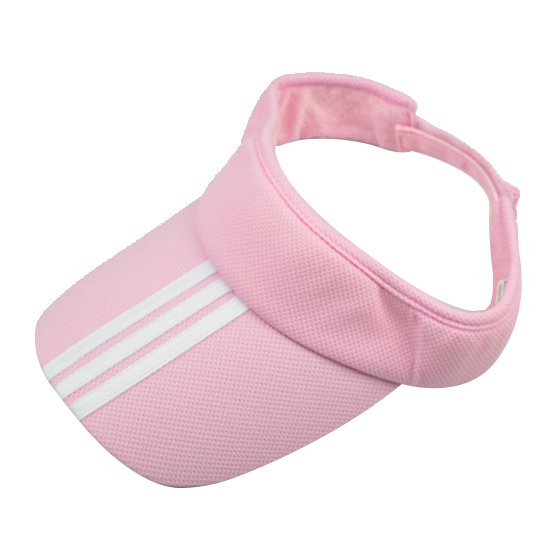 6e5c501ce93 Sports Tennis Golf Sun Visor Hat Hats Adjustable Plain Bright Color Men  Women Pink