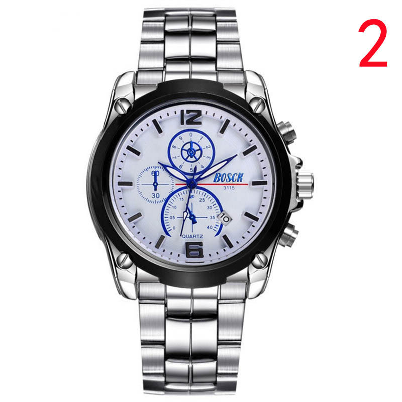 New watch mens fashion thin waterproof double calendar mechanical watch  322#New watch mens fashion thin waterproof double calendar mechanical watch  322#
