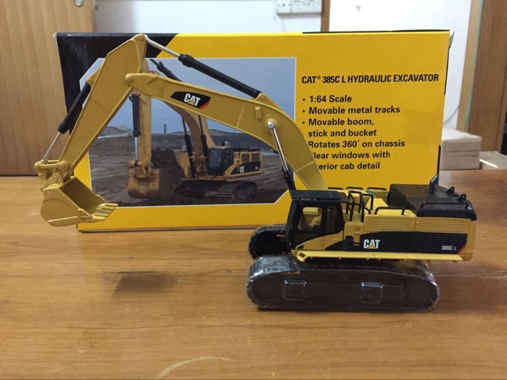 Norscot Caterpillar Cat 385C L Hydraulic Excavator Construction vehicles 1/64 Scale Die-Cast Model norscot 1 50 scale diecast caterpillar cat 320d l hydraulic excavator 55214 construction vehicles toy