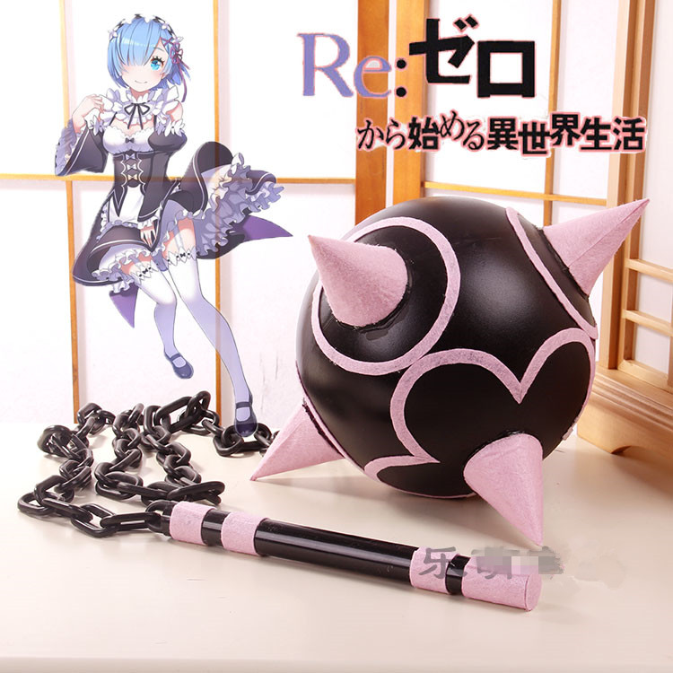 Novelty & Special Use Anime Re:life In A Different World From Zero Rem Weapons Equipment Bolas Cosplay Props Free Shipping