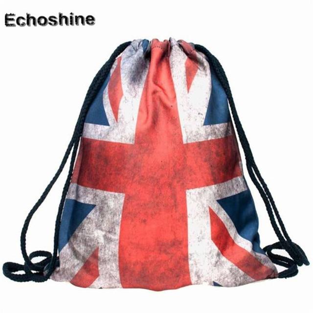 52d82d53ac Splendid 2016 New Drawstring Bag Women Backpack 3d Printing Patchwork  Softback Mochila Feminina Harajuku Unisex Backpacks A0000