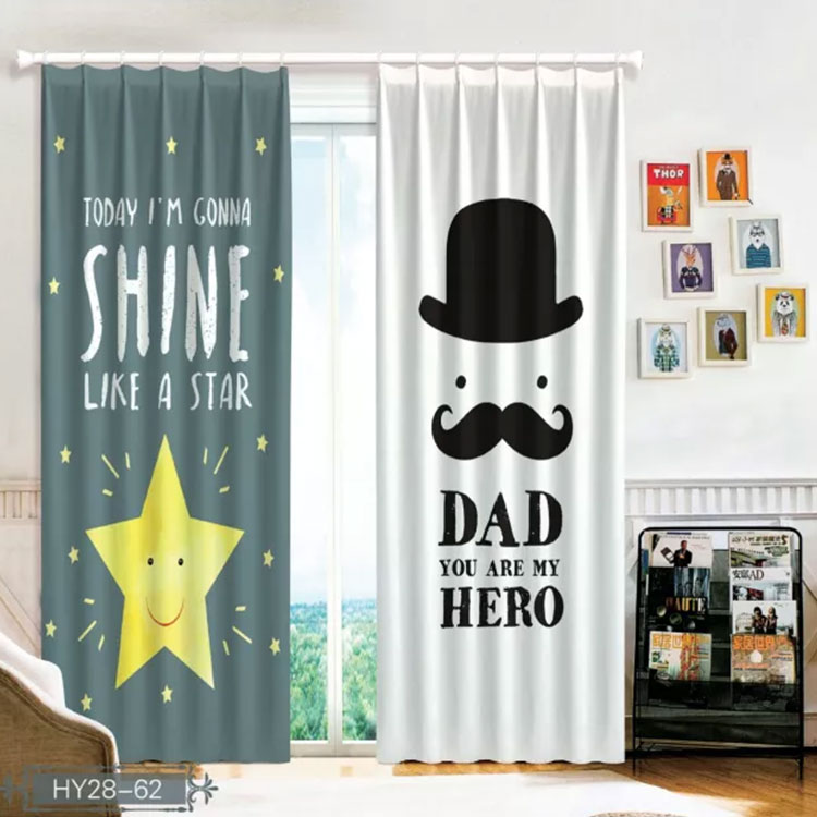 Permalink to Window 3D Simple Curtain Living Room Modern Home Goods Window Treatments Polyester Printed 3d Curtains For Bedroom
