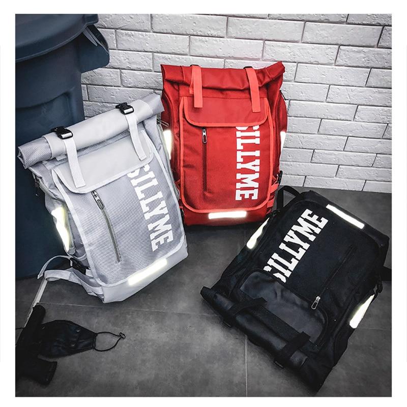 Hip hop Style Unisex Backpack Street Fashion Harajuku Letter Print Travel Bag Sports Backpack 2