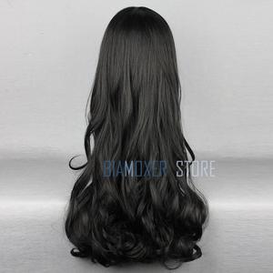 Image 4 - Biamoxer rwby blake belladonna cosplay perucas longo preto ondulado resistente ao calor cosplay peruca traje
