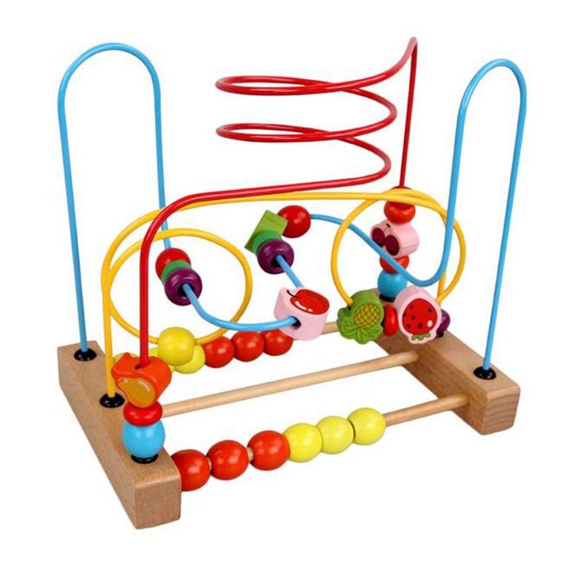 Kaylee Amp Ryan Circle Bead Maze Wooden Toys For Kids Wood