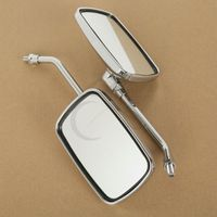 Motorcycle accessories Side Rear Mirrors For YAMAHA XV1100 XVS1300 DS400 XVS400 XV1900 1700 Free Shipping! 4
