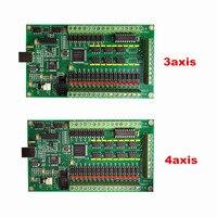 3 ציר 4 ציר CNC תנועה בקר USB כרטיס Mach3 200 khz הבריחה לוח ממשק cnc כרסום חריטת מכונת חלקי|חלקים למכונות נגרות|   -