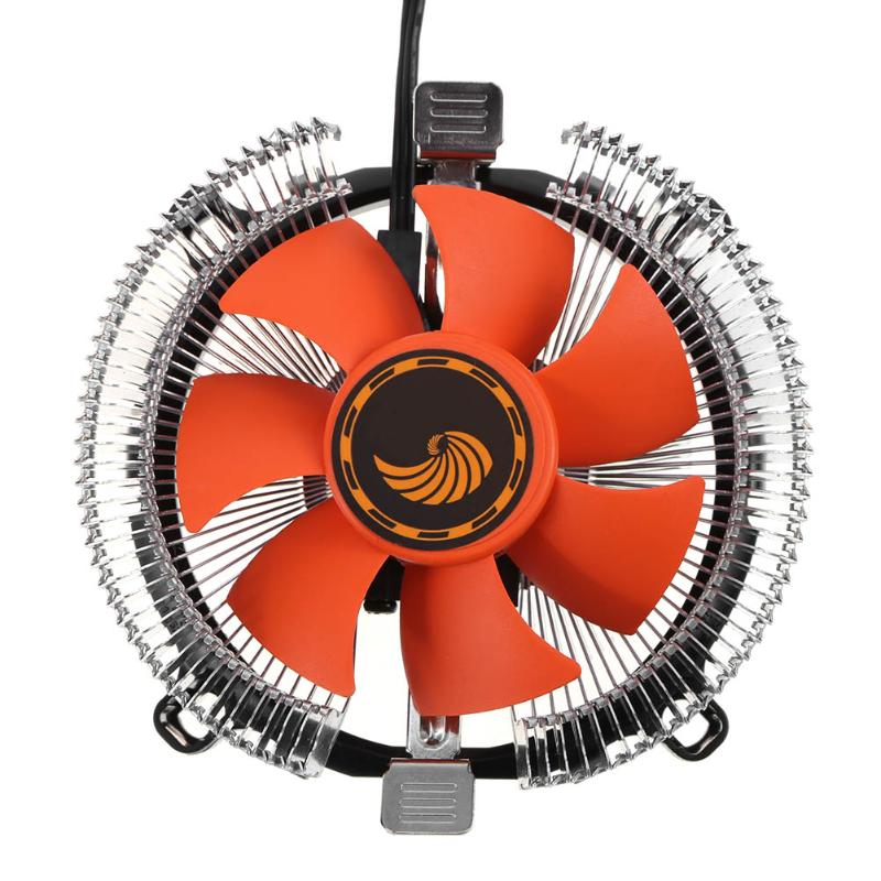 PC Desktop CPU Cooling Fan Hydraulic Bearing CPU <font><b>Cooler</b></font> for Intel 775 1150 1155 <font><b>1156</b></font> AMD754 939 AM2 AM3 image