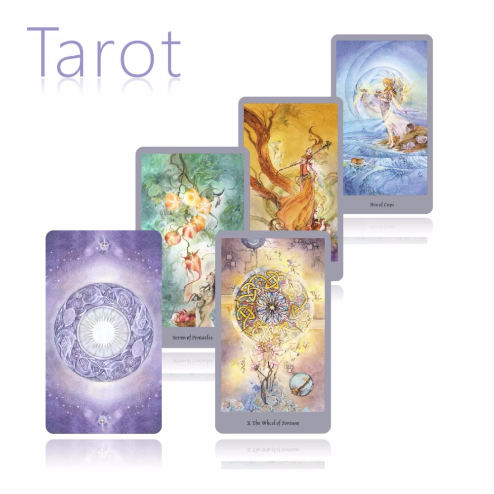 2018 new Full English version beauty tarot Cards best quality board game playing cards for party cards game 2018 full english nature tarot cards mysterious animal playing cards game for party family board game
