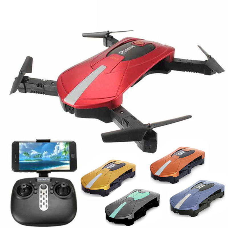 JY018 RC Drones with 720P Camera TOYS mini Foldable Selfie Pocket RC Drone 2 4GHz Wifi FPV G Sensor Altitude Hold Helicopter in RC Helicopters from Toys Hobbies