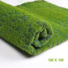 Квадратный коврик Размер 100*100 см искусственное растение искусственная трава зеленый отель магазин сад Стена спальня гостиная декоративная трава