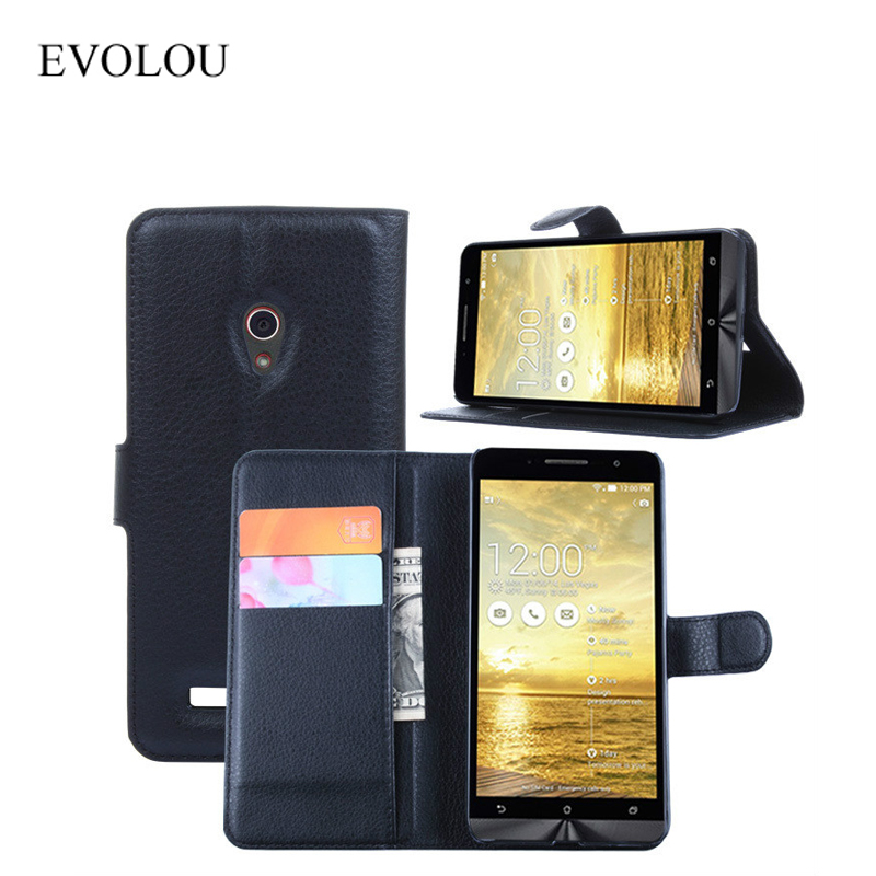 Leather Case for <font><b>Asus</b></font> <font><b>Zenfone</b></font> <font><b>5</b></font> <font><b>A500CG</b></font> <font><b>A501CG</b></font> Back Cover Flip Stand Wallet Cover for Zenfone5 A500KL Phone Bag & Phone Cases image
