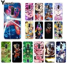 Yinuoda DRAGON BALL Z DBZ Goku Coque Shell Phone Case for Samsung S9 S9 plus S5 S6 S6edge S6plus S7 S7edge S8 S8plus