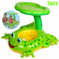 2pcs Cute Kids Baby Child Inflatable Swimming Pool Swim Ring Seat Float Boat Water Sports Swimming Pool Accessories