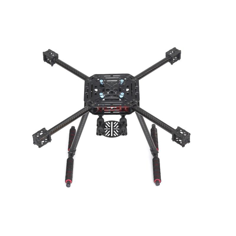 Таро LJI 500-X4 500 мм Quadcopter Рамка S500 SK500 F450 обновления FPV очки волокна руки углеродного волокна с фиксированной посадки Шестерни