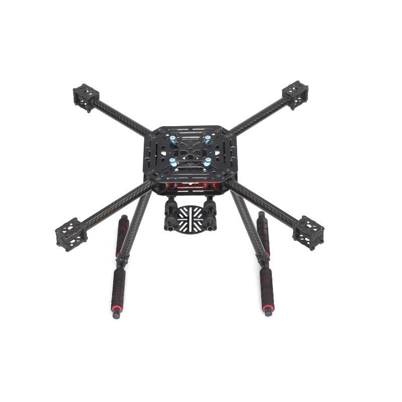 Tarot LJI 500-X4 500mm Quadcopter Rahmen S500 SK500 F450 Upgrade FPV Gläser Faser Arme Carbon Faser mit Festen Landung getriebe