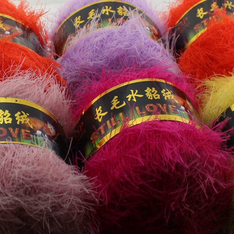 500 g / bolsa de visón de felpa hilados de lana de cachemira tejido - Artes, artesanía y costura