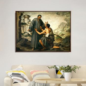 Home Decoration Art Wall Pictures Fro Living Room Poster Print Canvas Paintings Spanish Bartolome Esteban Murillo image