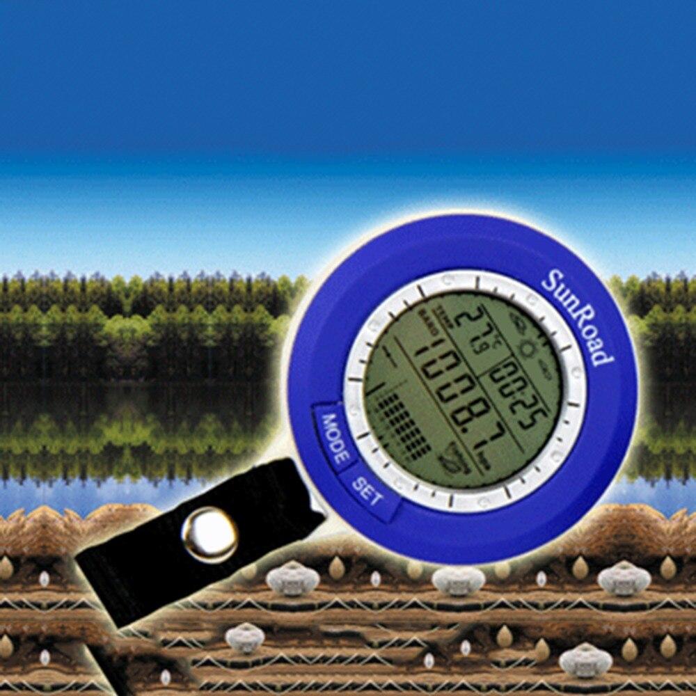 Рыбалка барометр многофункциональный ЖК Цифровой Уличный барометр для рыбалки альтиметр термометр Горячая Распродажа
