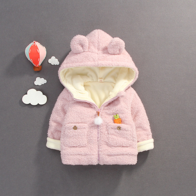 930661960 Cotton Girls Winter Coat Girl Winter Jacket Warm Children s Clothing ...