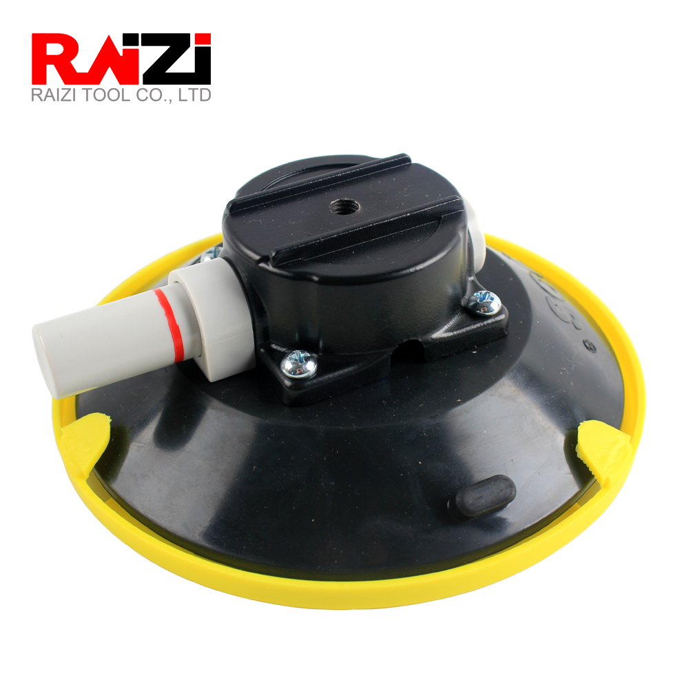 Raizi 6 Inch/150mm Hand Pump Suction Cup For Car Camera Industrial Mount Base Parts Accessary Vacuum Sucker For Glass
