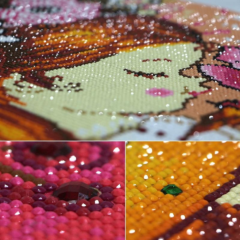 Bordado de diamantes, Encantador, Princesa, Chica, 5D, Especial, En - Artes, artesanía y costura - foto 2