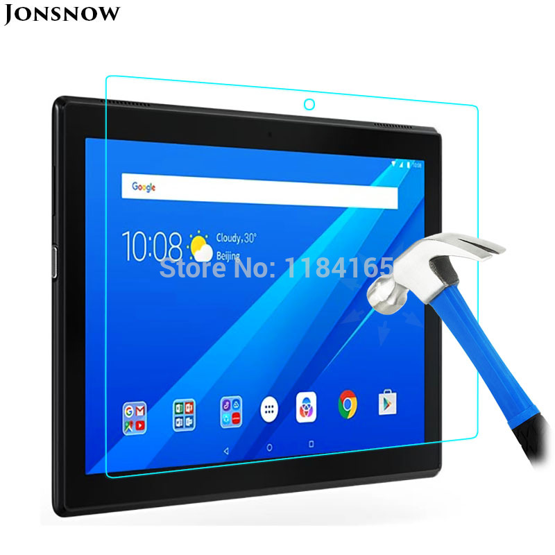 Tempered Glass for Lenovo TAB 4 10 TB-X304F TB-X304N TAB4 10.1 inch Prevent Scratch Tablet PC LCD Screen Protector Film JONSNOW aiyoo 9h tempered glass for lenovo tab 4 10 screen protector film for lenovo tab4 10 tb x304f tb x304n 10 1 tempered glass film
