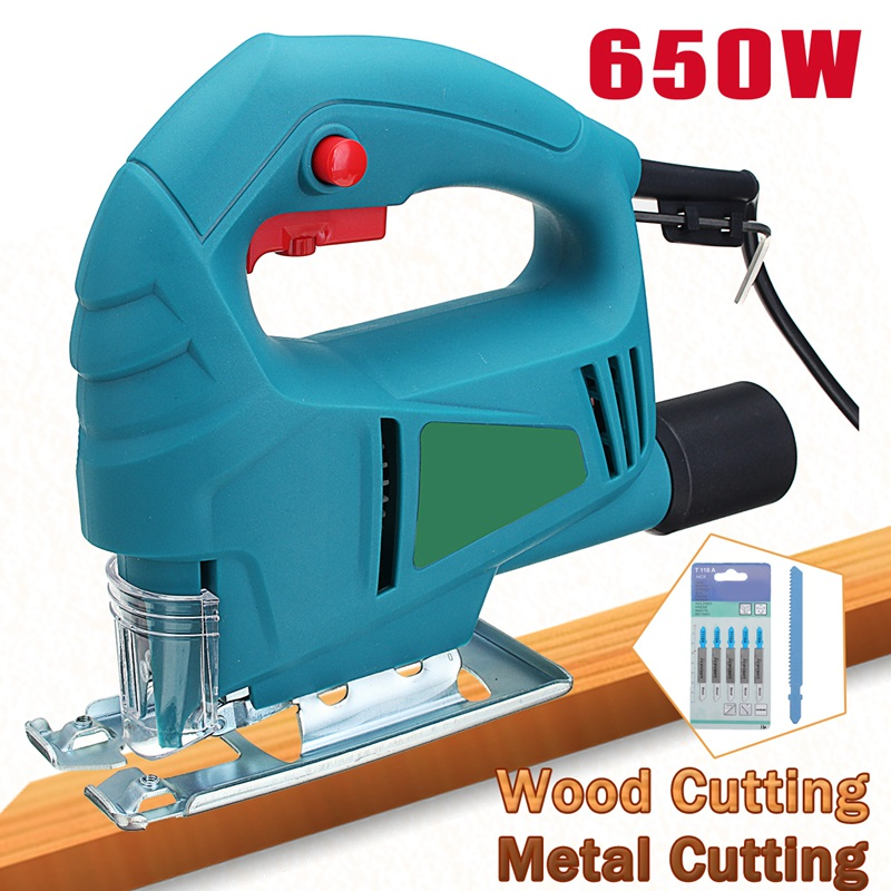 цена на Doersupp 1Pcs 220v 650w Electric Scroll Sweep Saw 500-3000r/min Power Tool For Wood/Metal Cutting Tool Universal Electric Saw