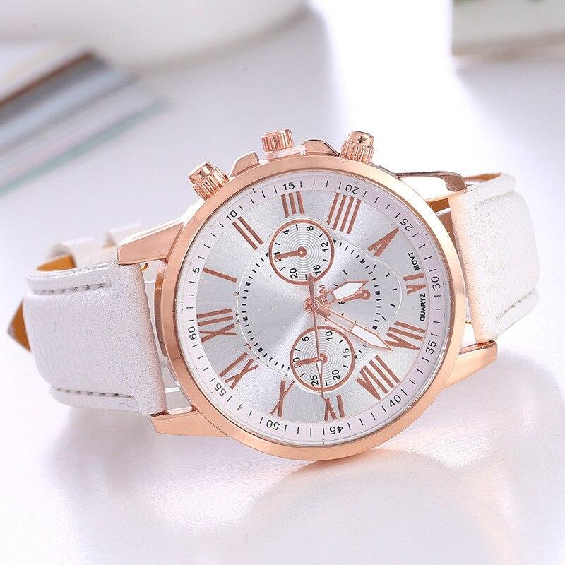 Dropship Watch Women Fashion Quartz Watches Leather Sports Men Casual Watch Dress Wristwatches Relogio Masculino Erkek Kol Saati