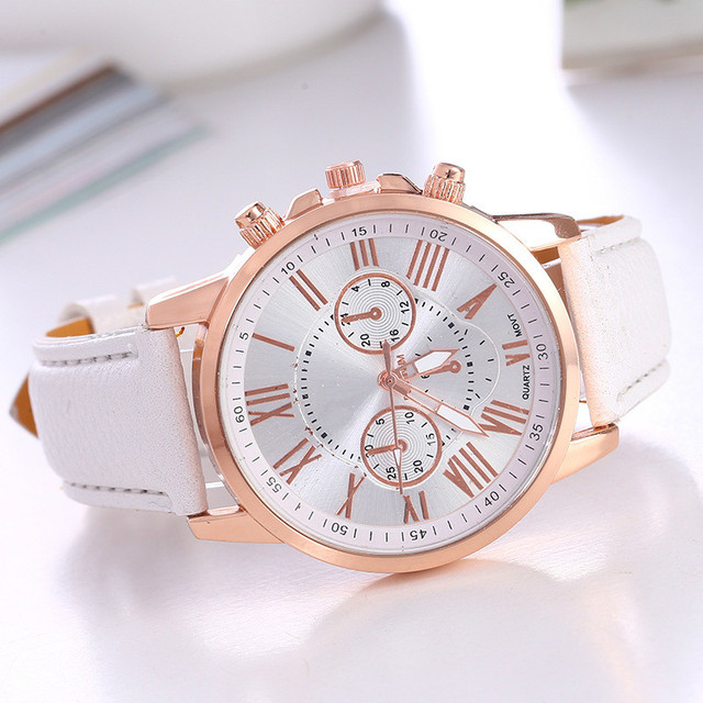 Dropship Watch Women Fashion Quartz Watches Leather Sports Men Casual Watch Dres