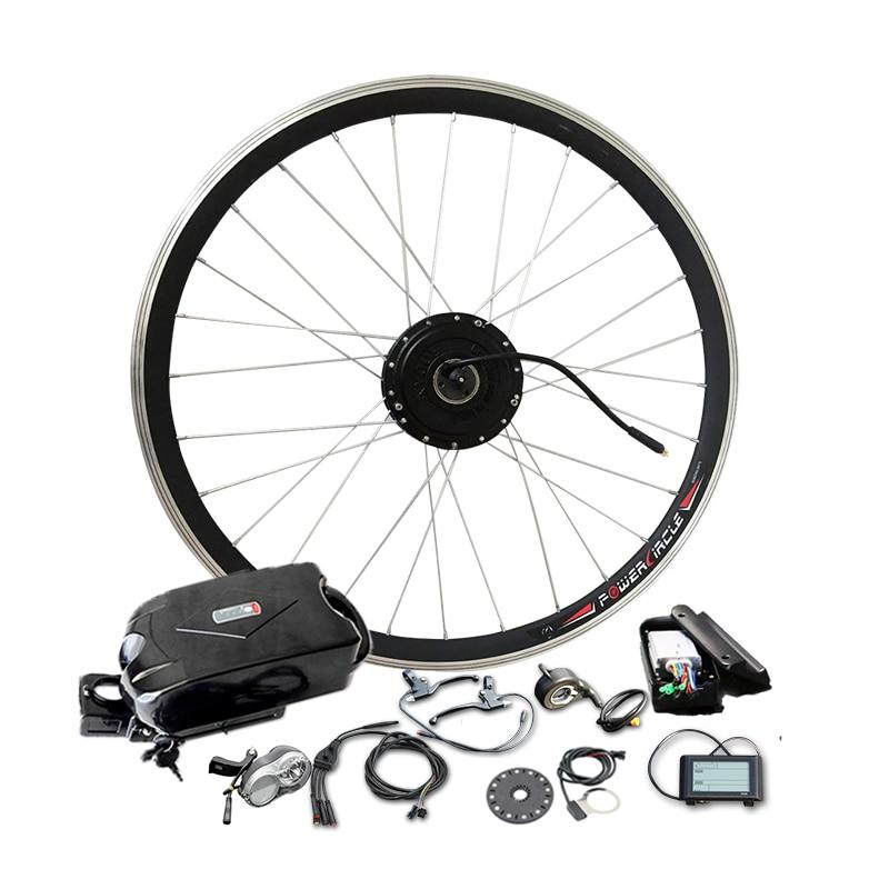 Kit puissant de vélo électrique de moteur de la batterie 48V10Ah 350 W pour la roue de 26 ''700C avec l'affichage du contrôleur LCD900 de PAS bldc approprié