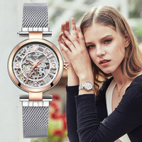 Kenneth Cole Watches For Women Automatic Self Wind Mechanical Stainless Steel Waterproof Women Watches KC4944
