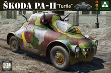 Takom 1/35 seconde guerre mondiale Skoda PA-II 'Turtle' 2024