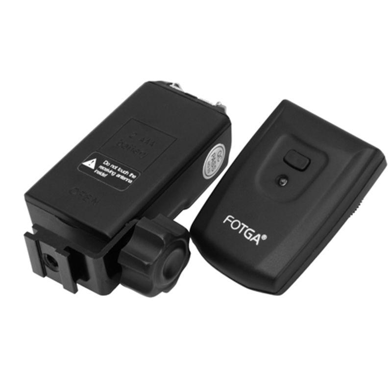 FOTGA Sans Fil déclencheur flash PT-04 TM 4 Canaux kit Pour Canon Nikon Caméra et Clignote
