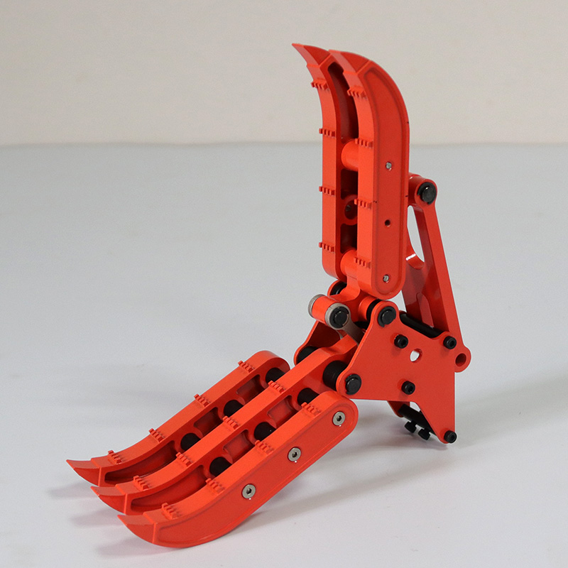 Remote control hydraulic excavator model upgrade parts metal wood clamp sets for 1/12 and 1/14 scale rc simulate excavator toys