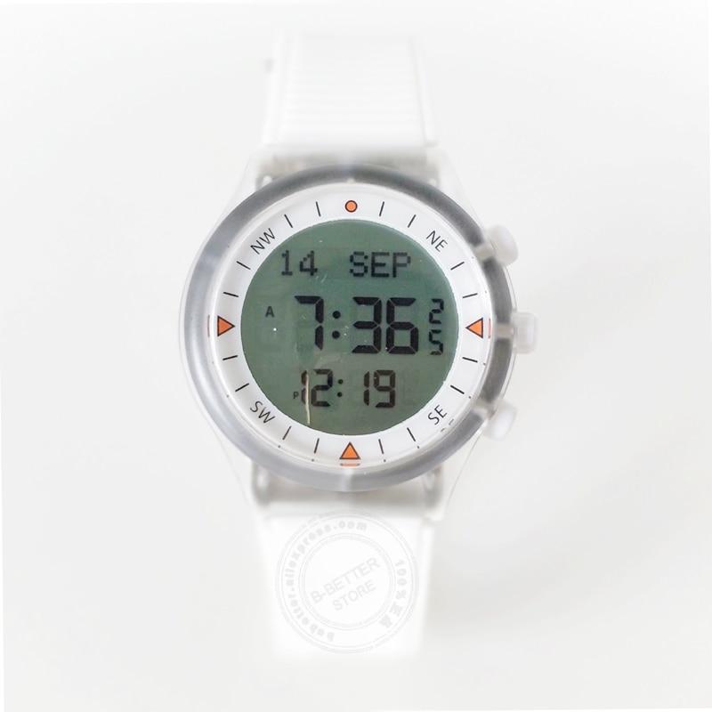 Muslim Azan Watch for Islam in English Arabic Al Harameen Sports Wristwatch with Adhan Prayer Time 10 Pieces