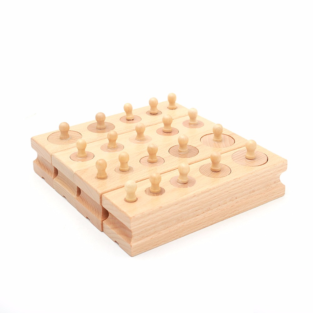 4pcs/set Babies Early Educational Wooden Toys Children Kids Bebe Learning Blocks Toy Baby Practice And Senses Development Gifts
