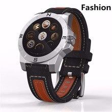 Inteligentny zegarek Outdoor Smartwatch sportowy z pulsometrem kompas wodoodporny zegarek Bluetooth mężczyźni kobiety dla IOS Android