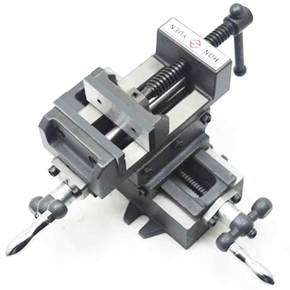 Cross Vise, Precision Heavy Mobile Platform, Vise, Bench Milling Machine, Cross Bench Clamp 3 Inches